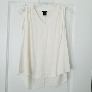 Ann Taylor off white top